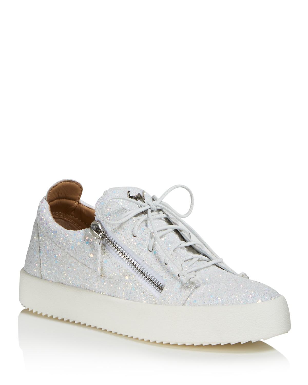Giuseppe ZanottiMay London Glitter Low Top Sneaker VVnWNPl6F