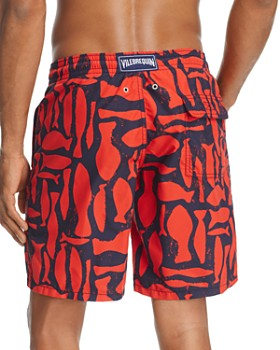Vilebrequin - Abstract Fish Swim Trunks