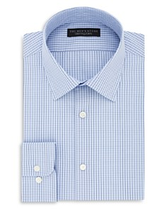 The Men's Store at Bloomingdale's Grid Regular Fit Dress Shirt - 100% Exclusive_0