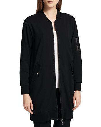 Calvin Klein - Bomber-Style Longline Jacket