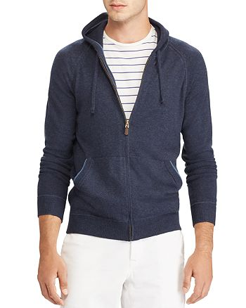 Polo Ralph Lauren - Washable Cashmere Zip Hoodie