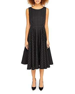 Ted Baker Lysanda Cutout Jacquard Midi Dress