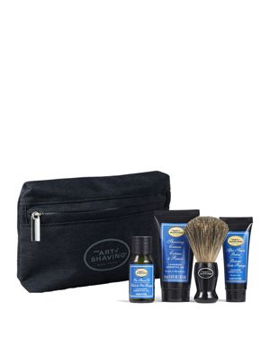 THE ART OF SHAVING Starter Kit With Bag, Lavender