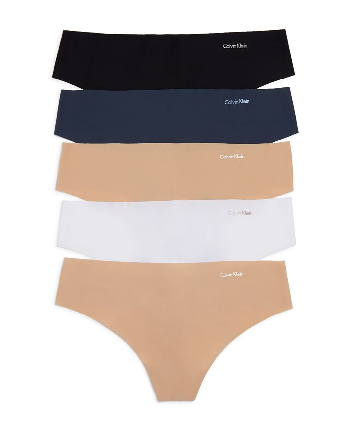 Calvin Klein - Invisibles Thongs, Set of 5