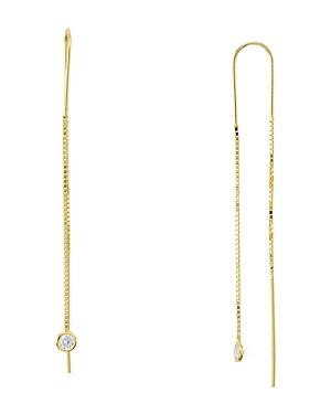 Sterling Silver Dangling Threader Earrings