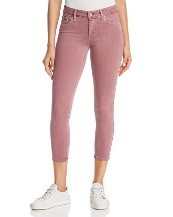 PAIGE - Cropped Skinny Jeans in Vintage Garden Rose