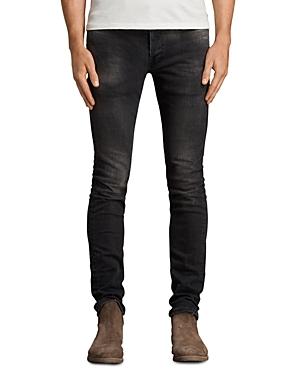 Allsaints Blakley Rex Slim Fit Jeans in Black
