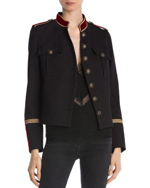 The Kooples Cover Military-Style Blazer