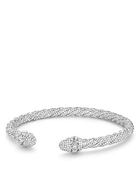 David Yurman - Renaissance Diamond Bracelet in 18K White Gold