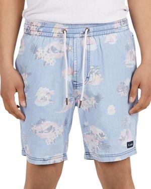 Barney Cools Poolside Floral Shorts