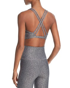 Beyond Yoga - Double Cross-Back Sports Bra