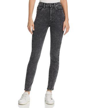 Paige Margo Acid-Washed Ultra-Skinny Jeans in Zephra 2767735