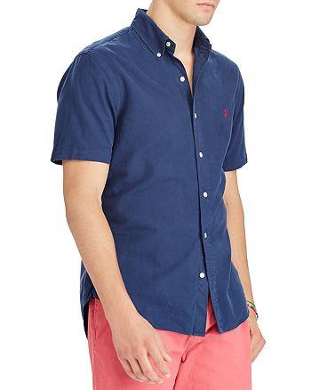 Polo Ralph Lauren - Oxford Classic Fit Short Sleeve Button-Down Shirt
