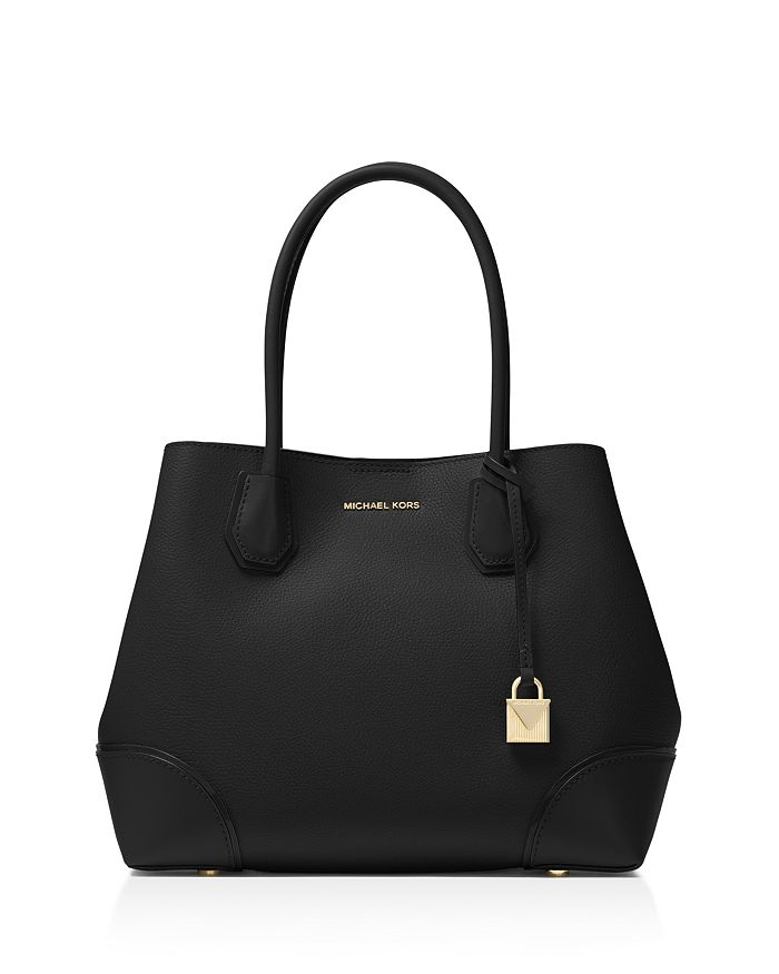 6be9212266a1 MICHAEL Michael Kors Mercer Gallery Snap Medium Leather Tote ...