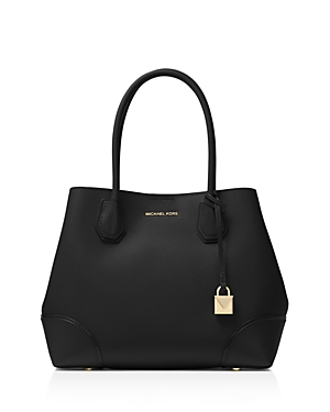 Michael Michael Kors Mercer Corner Snap Medium Leather Tote