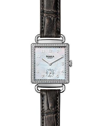 Shinola - Diamond Watch, 28mm x 27mm