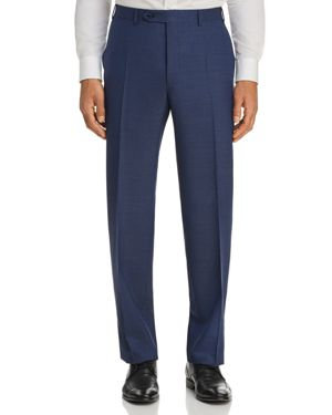 Canali Micro Box Weave Regular Fit Dress Pants