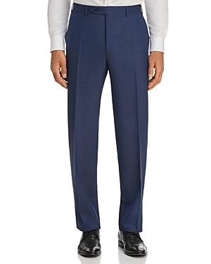 Canali Micro Box Weave Regular Fit Dress Pants