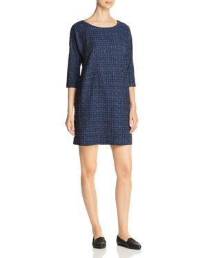 Eileen Fisher Printed Organic Cotton Dress