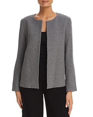 Eileen Fisher Textured Open-Front Jacket