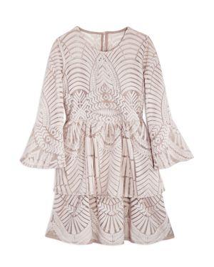 Bardot Junior Girls' Embroidered Lace Dress - Big Kid