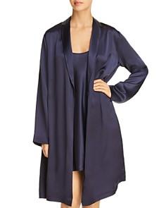 La Perla - Silk Short Robe & Chemise