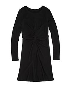 AQUA Girls' Twist-Front Shirt Dress, Big Kid - 100% Exclusive - Bloomingdale's_0