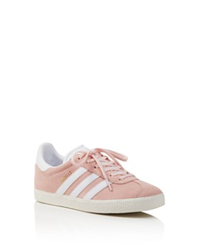Adidas - Unisex Gazelle Suede Lace Up Sneakers - Big Kid