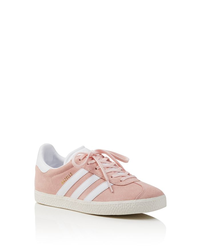 8f3f4bad657dc1 Adidas - Unisex Gazelle Suede Lace Up Sneakers - Big Kid