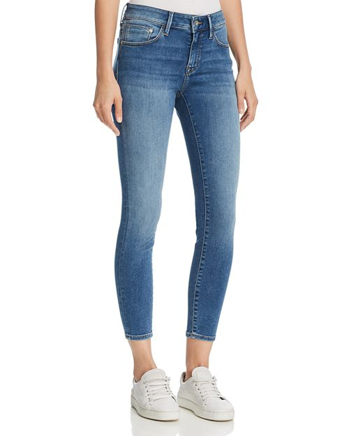 Mavi - Adriana Ankle Mid Rise Super Skinny Jeans in Mid Supersoft