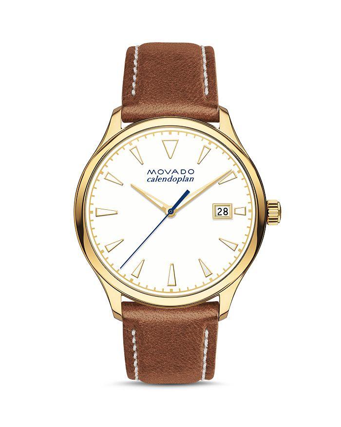 Movado - Heritage Calendoplan Watch, 36mm