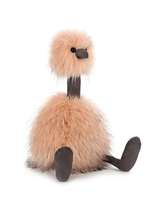 Jellycat - Just Peachy Pompom Bird - Ages 12 Months+