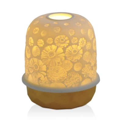 $Bernardaud Lampias LED Gold Zinnias Light - Bloomingdale's