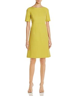 Lafayette 148 New York Emanuelle Short-Sleeve Dress