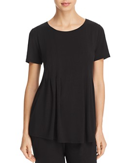 Donna Karan - Basics Short-Sleeve Top
