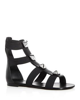 Giuseppe Zanotti - Women's Glad Studded Leather Gladiator Sandals