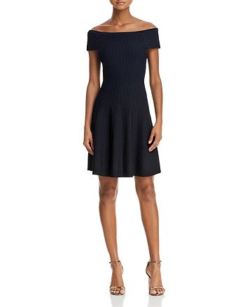 FRENCH CONNECTION - Olivia Off-the-Shoulder Dress
