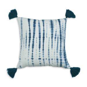 Sparrow & Wren Shibori Tassel Decorative Pillow, 20 x 20 - 100% Exclusive