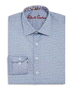Robert Graham Boys' Multicolor Diamond Print Dress Shirt - Big Kid - Bloomingdale's_0