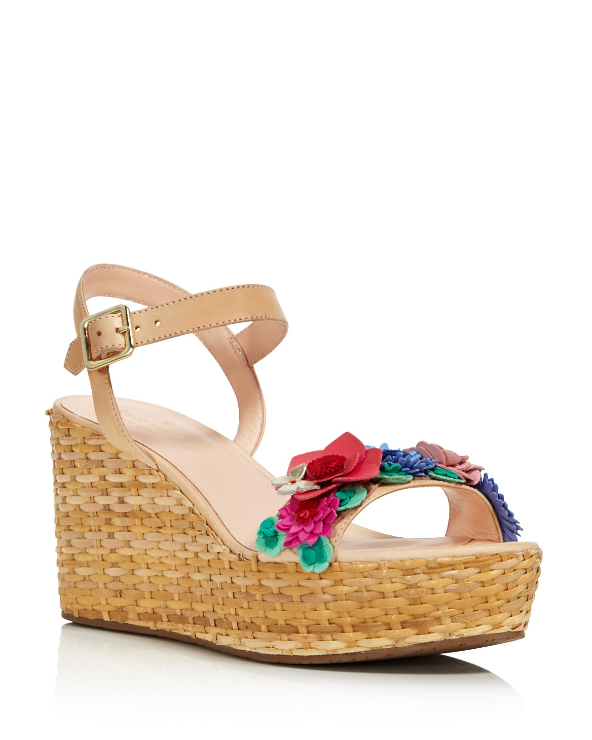 wholesale price cheap price Kate Spade New York Platform Floral Wedges with mastercard for sale cheap price low shipping fee low price fee shipping cheap price 8rvvmMKxlW