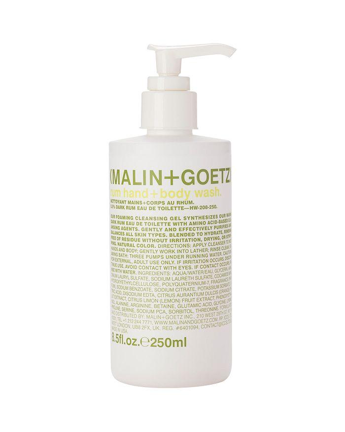 MALIN and GOETZ - Rum Hand + Body Wash