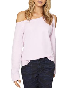 ALEXI COLD-SHOULDER SWEATSHIRT