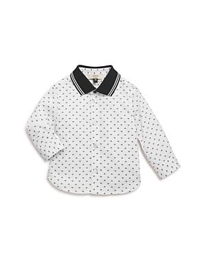 Armani Junior Boys' Logo-Print Shirt - Baby
