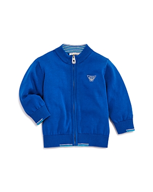 Armani Junior Boys Cotton ZipUp Sweater  Baby