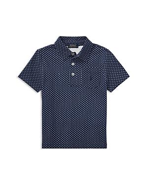 Ralph Lauren Childrenswear Boys Dotted Mesh Cotton Polo  Little Kid