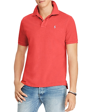 Polo Ralph Lauren Custom Slim Fit Mesh Short Sleeve Polo Shirt