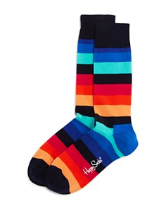 Happy Socks Striped Socks - Bloomingdale's_0