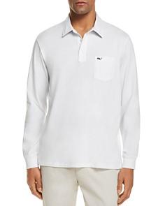 Vineyard Vines Jersey Long Sleeve Pocket Polo Shirt - Bloomingdale's_0