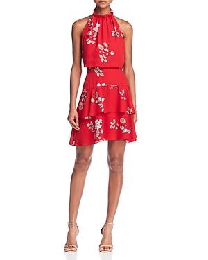 Bb Dakota  CADENCE POPOVER FLORAL PRINT DRESS