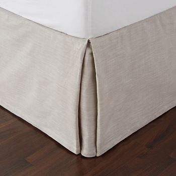 Hudson Park Collection - Modern Scroll Bedskirt, King - 100% Exclusive